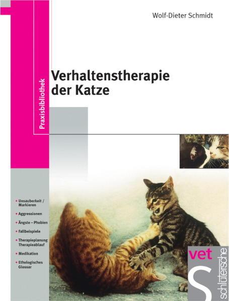 Verhaltenstherapie der Katze als Buch (gebunden)