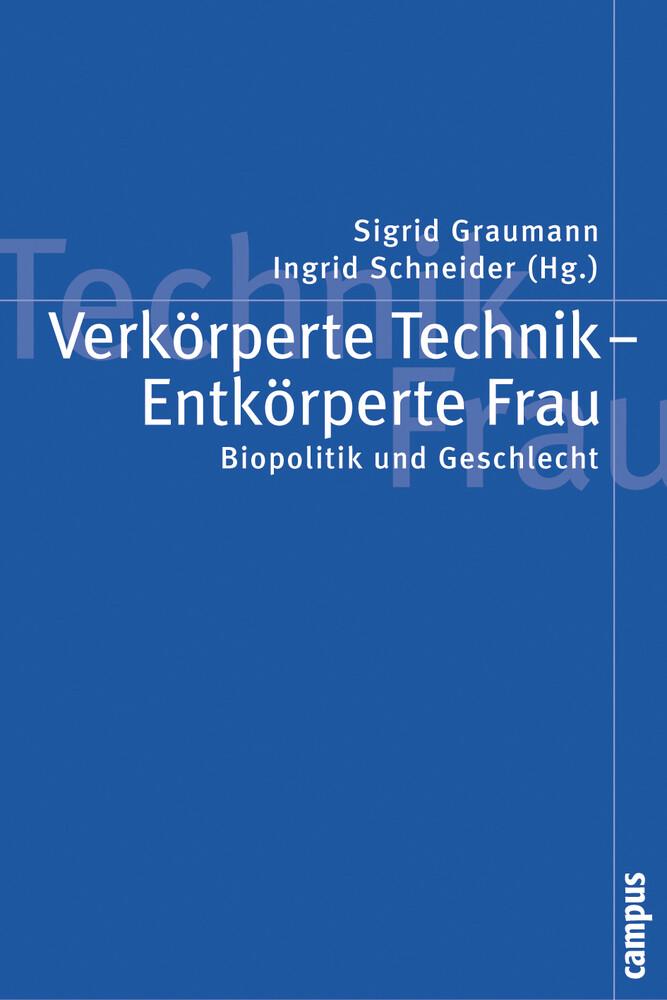Verkörperte Technik - Entkörperte Frau als Buch (kartoniert)
