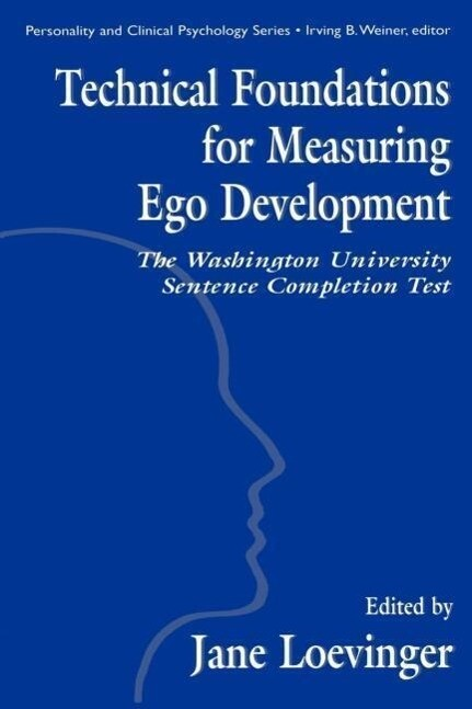 Technical Foundations for Measuring Ego Development als Buch (gebunden)