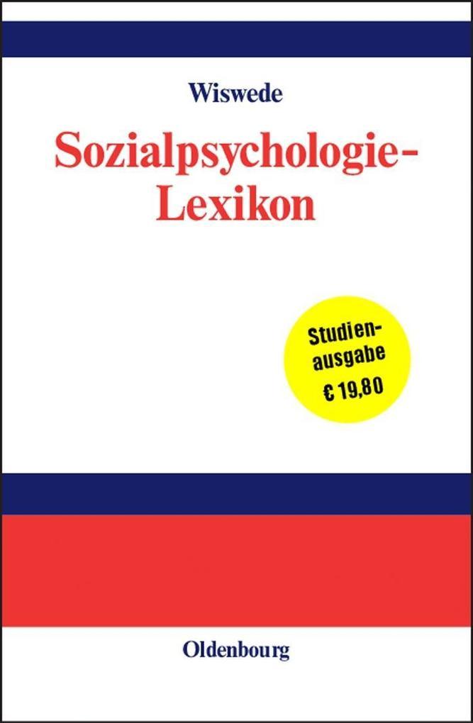 Sozialpsychologie-Lexikon als eBook pdf