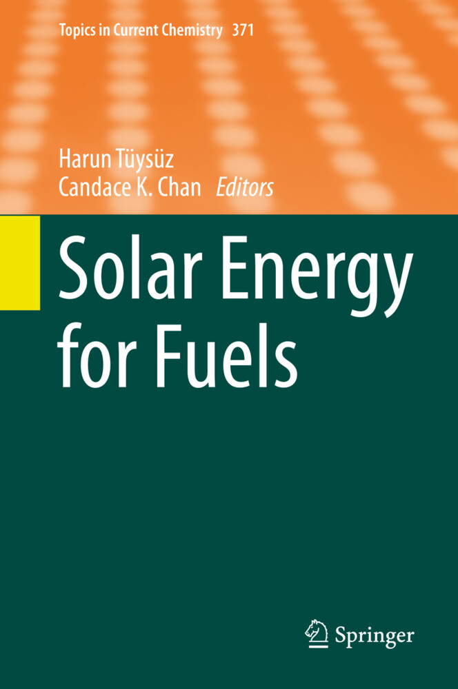 Solar Energy for Fuels als Buch (gebunden)