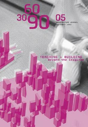 Teaching + Building. Beyond the Imagined als Taschenbuch