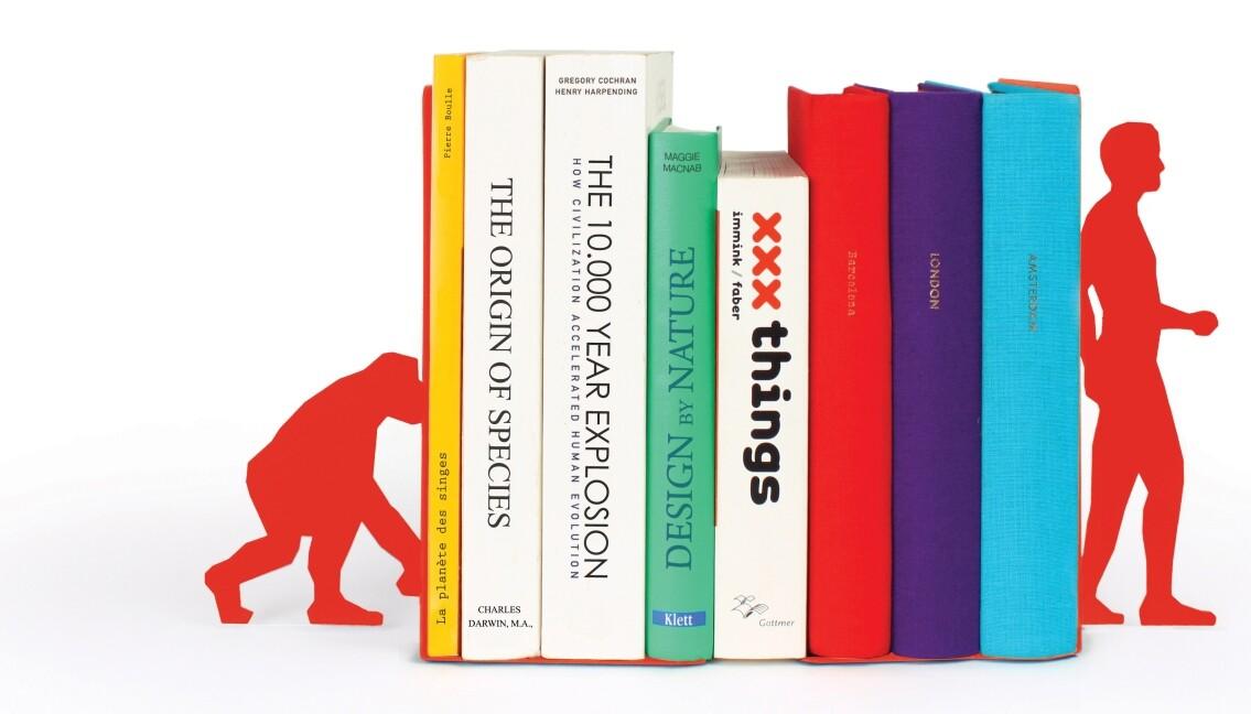 Bookends - Motivbuchstützen in Winkelform