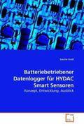 Batteriebetriebener Datenlogger für HYDAC Smart Sensoren