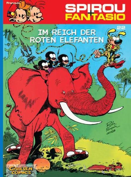 Spirou und Fantasio 22. Im Reich der roten Elefanten als Buch (kartoniert)