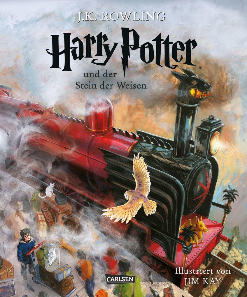 Harry Potter 1 und der Stein der Weisen. Schmuckausgabe als Buch (gebunden)