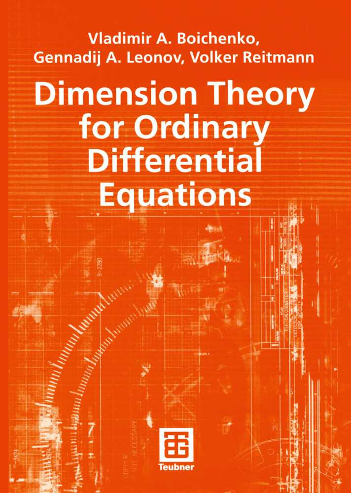 Dimension Theory for Ordinary Differential Equations als Buch (kartoniert)