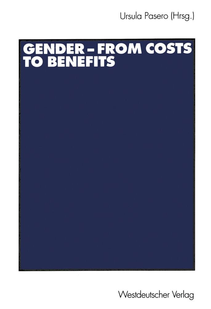 Gender - from Costs to Benefits als Buch (kartoniert)