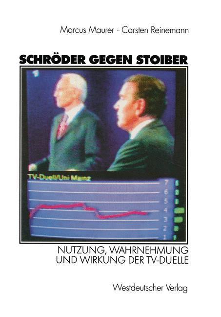 Schröder gegen Stoiber als Buch (kartoniert)
