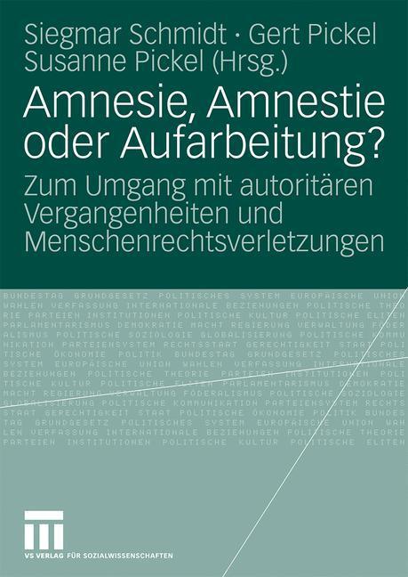 Amnesie, Amnestie oder Aufarbeitung? als Buch (kartoniert)