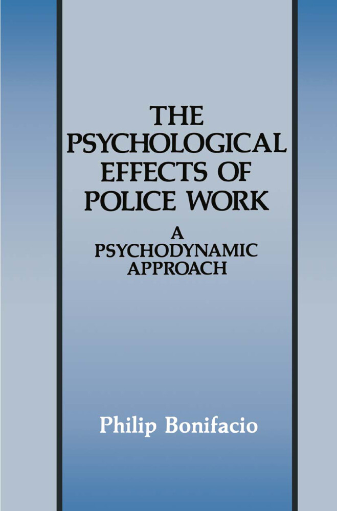 The Psychological Effects of Police Work als Buch (gebunden)