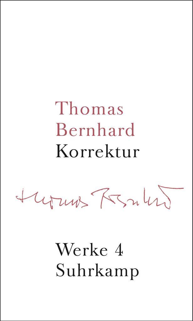Werke 04. Korrektur als Buch (gebunden)
