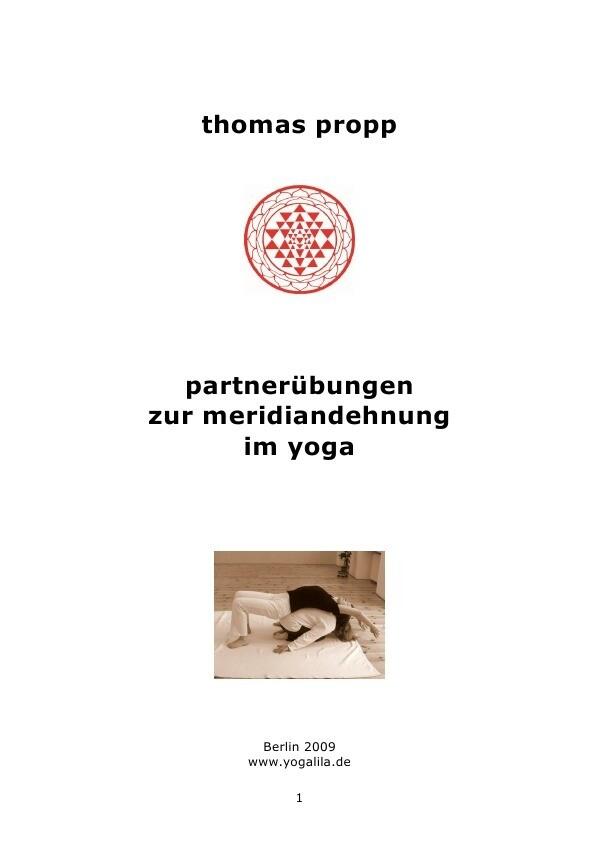 partnerübungen zur meridiandehnung im yoga als Buch (kartoniert)