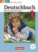 Deutschbuch Band 1: 5. Schuljahr zum Bildungsplan 2016. Realschule Baden-Württemberg - Schülerbuch