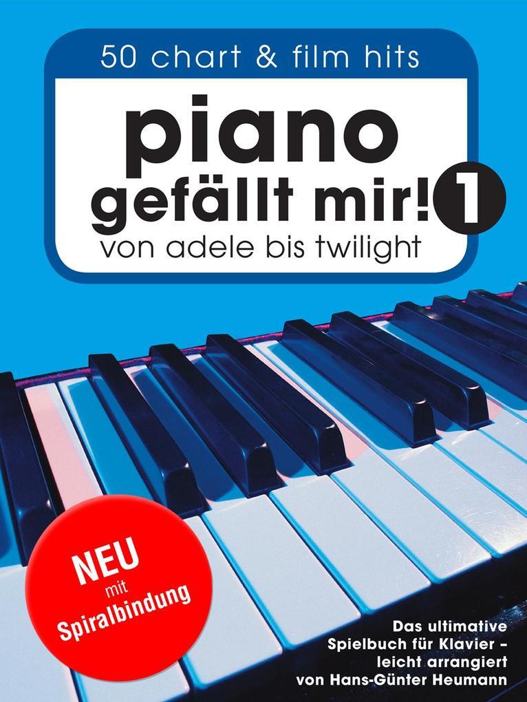 Piano gefällt mir! Band 1 mit Spiralbindung als Buch (kartoniert)