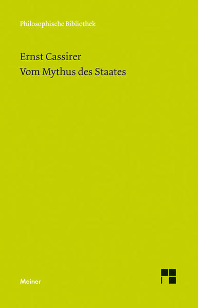 Vom Mythus des Staates als Buch (kartoniert)