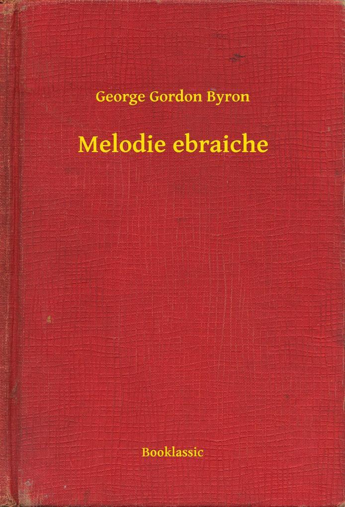 Melodie ebraiche als eBook epub