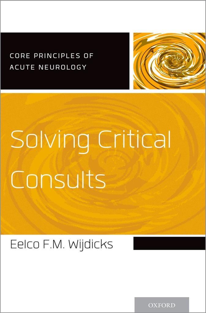 Solving Critical Consults als eBook epub