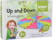knorr toys - Up and down - Schwungtuch inkl. 25 Bälle
