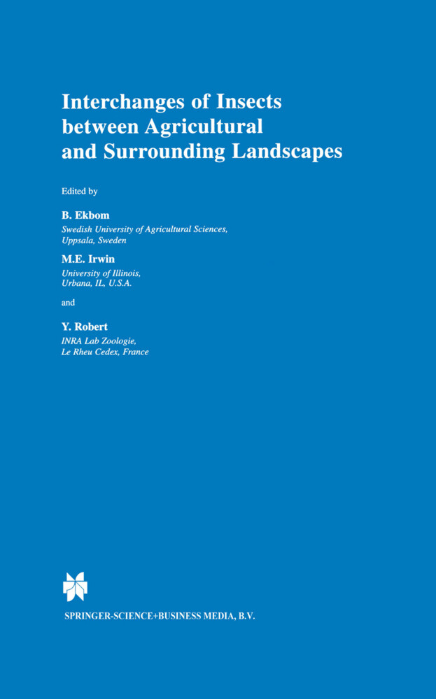 Interchanges of Insects between Agricultural and Surrounding Landscapes als Buch (gebunden)