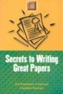 Secrets to Writing Great Papers als Taschenbuch