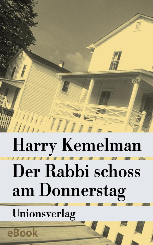 Der Rabbi schoss am Donnerstag als eBook epub