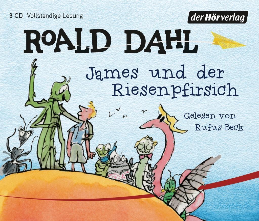James und der Riesenpfirsich als Hörbuch CD