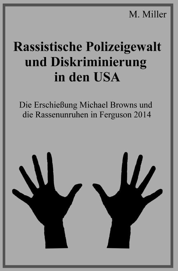 Rassistische Polizeigewalt und Diskriminierung in den USA als Buch (kartoniert)