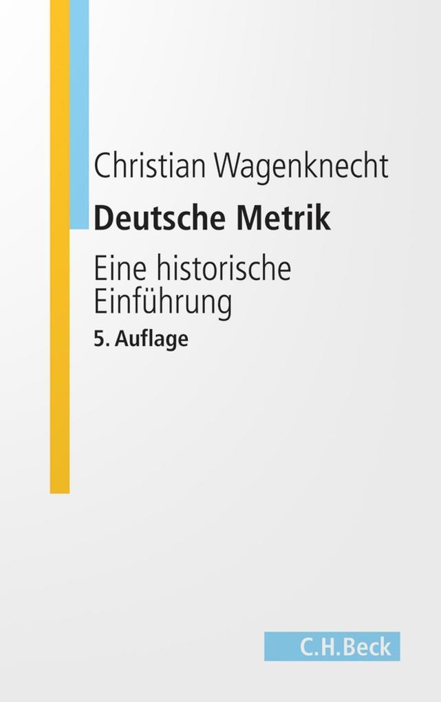 Deutsche Metrik als eBook epub