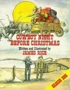 Cowboy Night Before Christmas Coloring Book