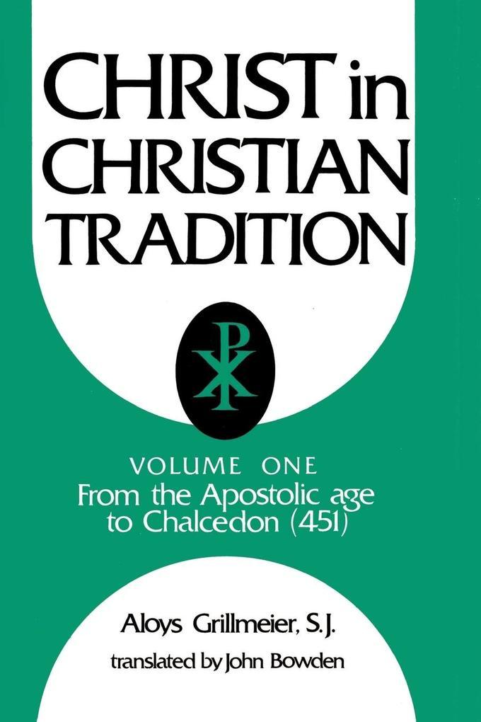 Christ in Christian Tradition als Buch (kartoniert)