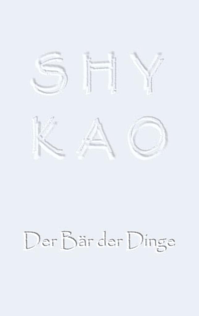 SHYKAO als eBook epub