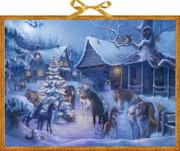 Coppenrath Verlag - Weihnachten auf dem Pferdehof, Adventskalender