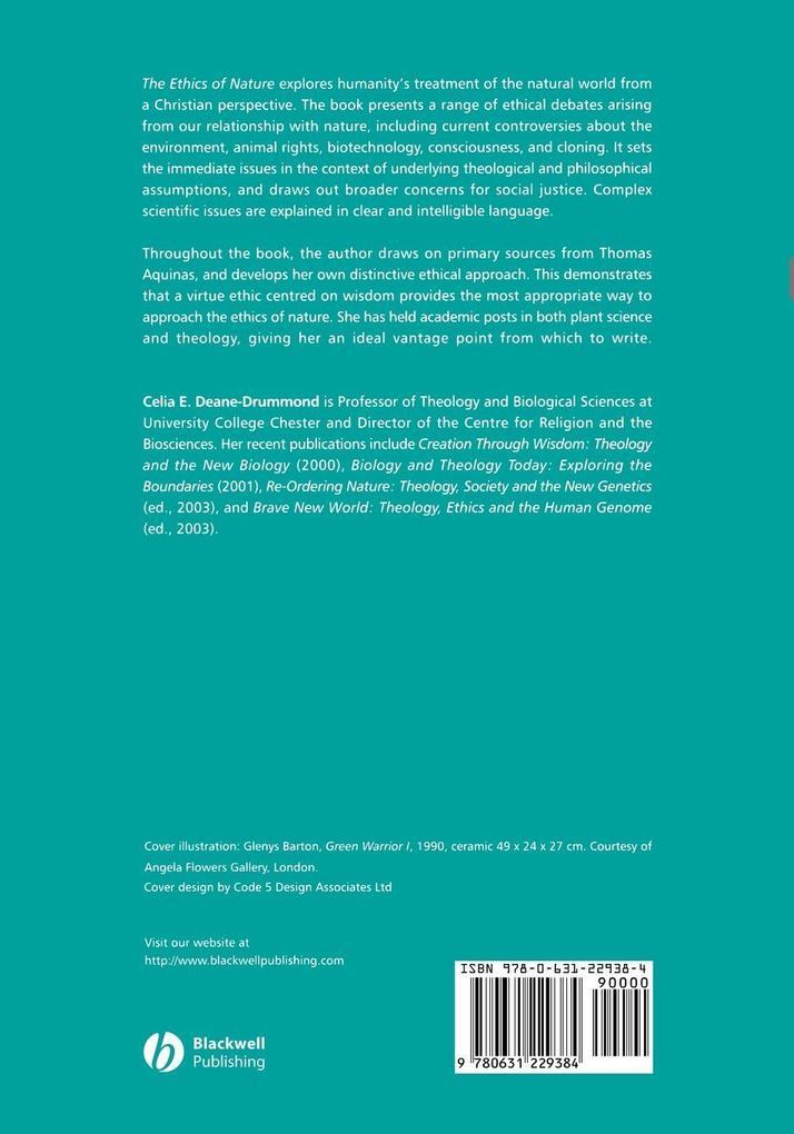 Ethics of Nature als Taschenbuch