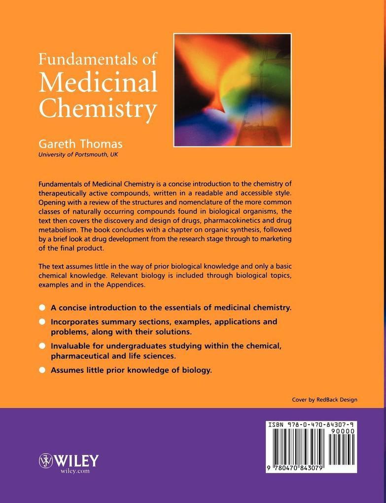 Fundamentals of Medicinal Chemistry als Buch (kartoniert)