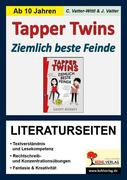 Geoff Rodkey: Tapper Twins - Ziemlich beste Feinde, Literaturseiten