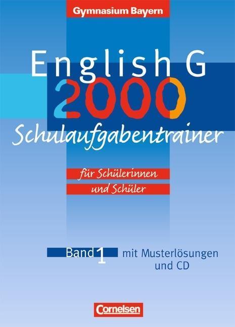 5. Jahrgangsstufe, Schulaufgabentrainer m. Audio-CD als Buch (geheftet)