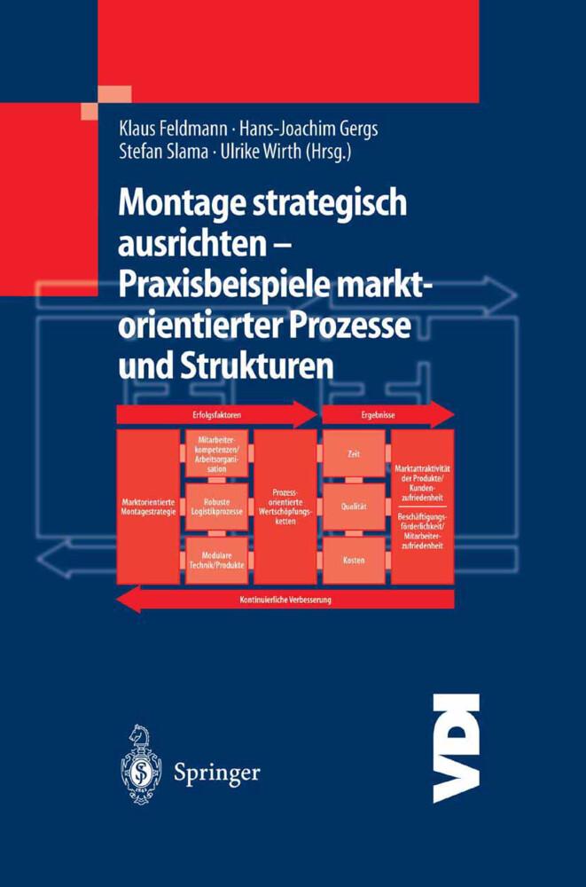 Montage strategisch ausrichten - Praxisbeispiele marktorientierter Prozesse und Strukturen als Buch (gebunden)