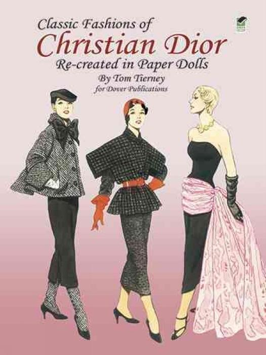 Christian Dior Fashion Review Paper Dolls als Buch (kartoniert)