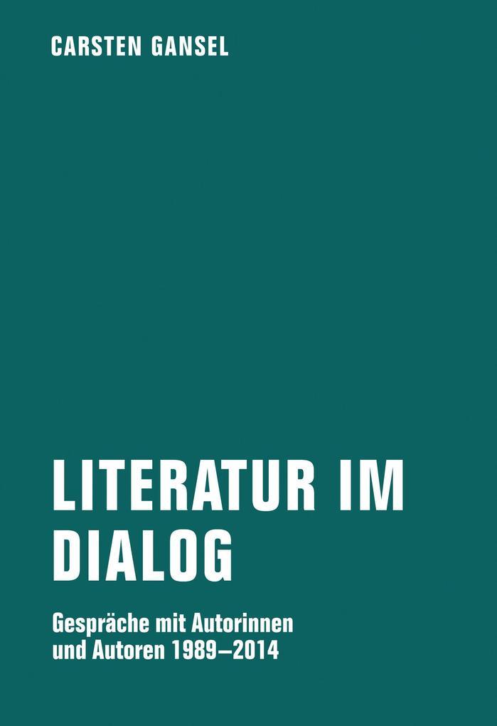 Literatur im Dialog als eBook pdf