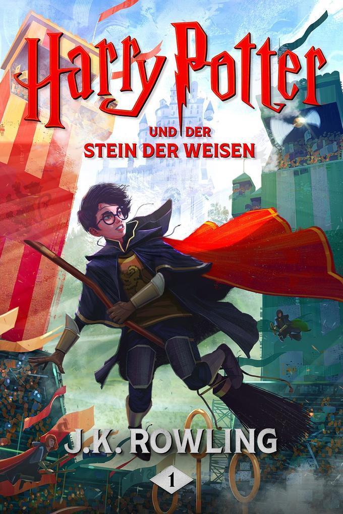 Harry Potter und der Stein der Weisen als eBook epub