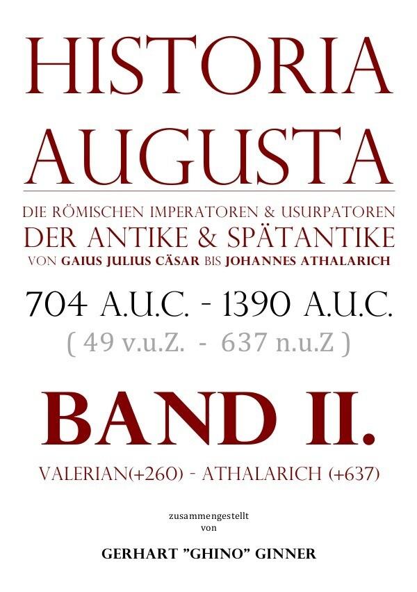 HISTORIA AUGUSTA Band II. als Buch (kartoniert)