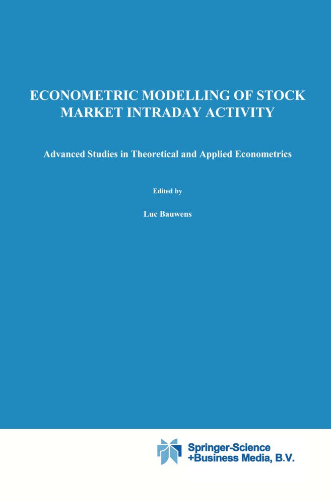 Econometric Modelling of Stock Market Intraday Activity als Buch (gebunden)