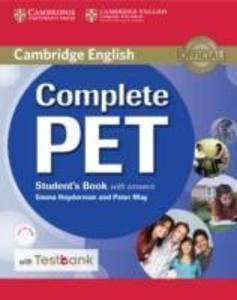 Complete Pet Student's Book with Answers and Testbank [With CDROM] als Taschenbuch