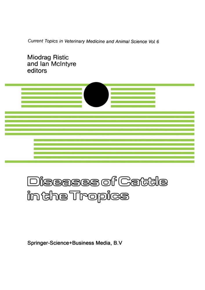 Diseases of Cattle in the Tropics als Buch (kartoniert)