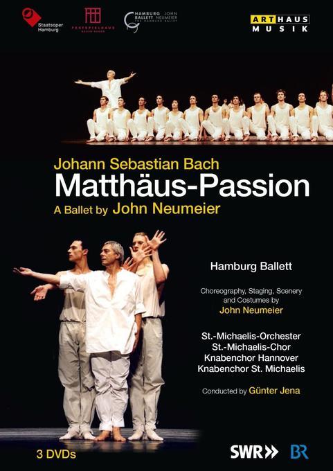 Matthäus-Passion, 3 DVDs als DVD
