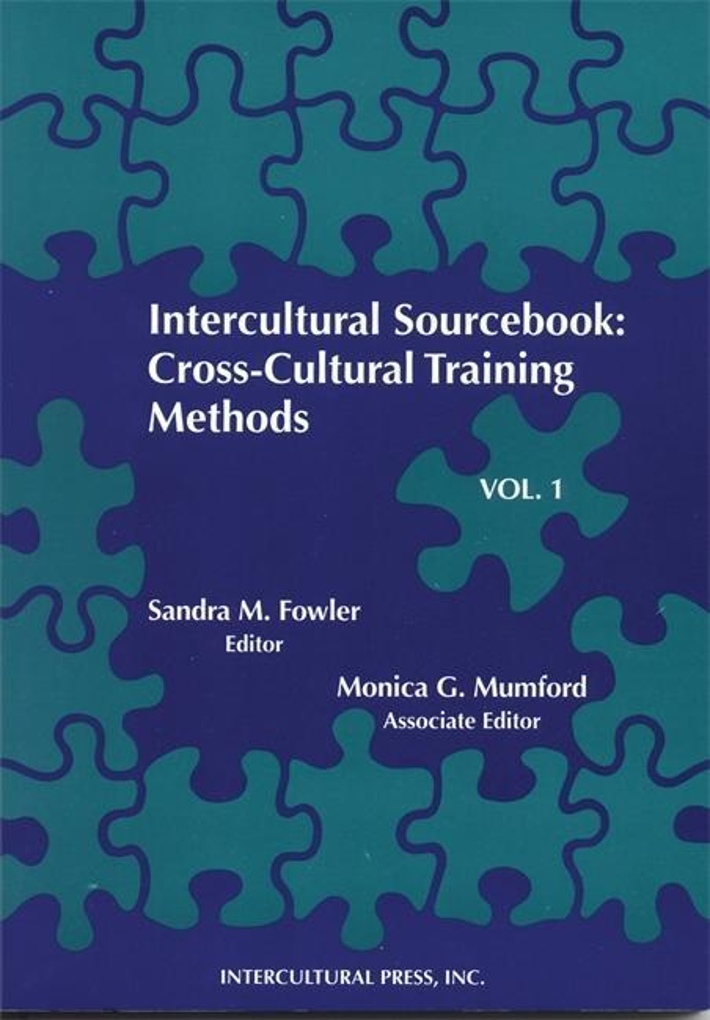 Intercultural Sourcebook Vol 1: Cross-Cultural Training Methods als Taschenbuch