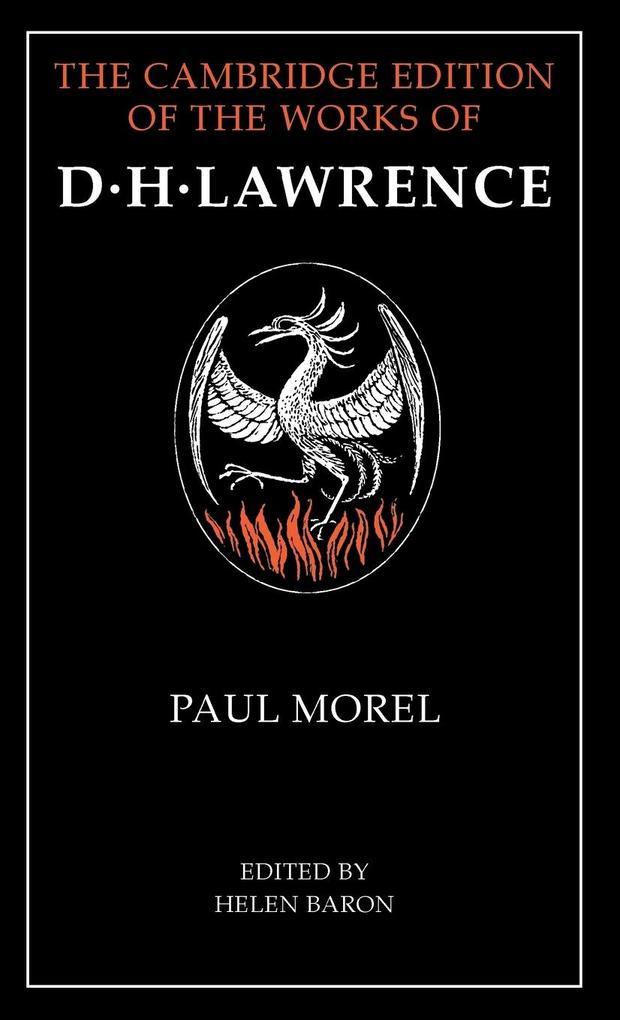 Paul Morel als Buch (gebunden)