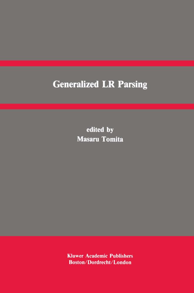 Generalized LR Parsing als Buch (gebunden)