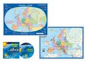 Europareise-Lernspiel (Kinderspiel) + 1 Audio-CD
